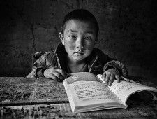 PSA Honorable Mention - hong li (China)  - Child  on Daliang mountain 13
