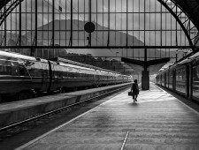 PSA Silver Medal - Vibeke K. Seldal (Norway)  - The railwaystation