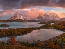 MoL Gold Medal - Yury Pustovoy (Russia)  - Golden Autumn in Patagonia