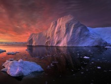 MOL Diploma - Yury Pustovoy (Russia)  - Sunrise in Greenland