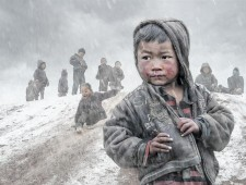 PSA Honorable Mention - ruiyuan chen (China) - Children in the mountains2