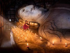 PSA Honorable Mention - Yury Pustovoy (Russia) - Children of Buddha, Myanmar